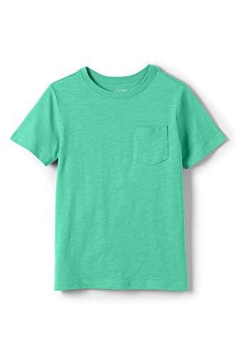 Lands' End Little Boys Solid Slub T Shirt