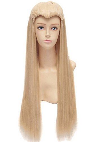 Halloween Costumes Mens Elf Long Straight Wig Party Hair (Thranduil Costume)