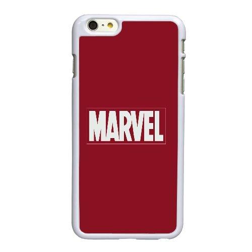 C5E37 Marvel Logo I7S6WJ coque iPhone 6 Plus de 5,5 pouces cas de couverture de téléphone portable coque blanche KN4XTF3IB