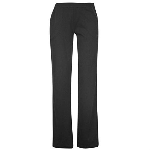 LA GEAR Jogginghose Damen Trainingshose Fitness Hose Sweathose Yoga Sporthose schwarz 46/48 ( XXL )