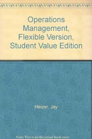 Pdf operation jay heizer by management book