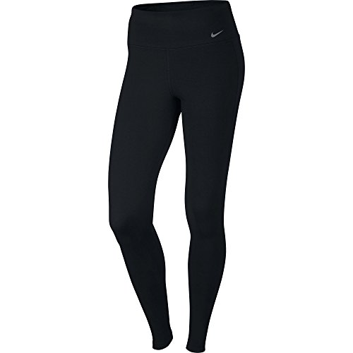 New Nike Women's Dry Training Tights Black/Black/Cool Grey Large