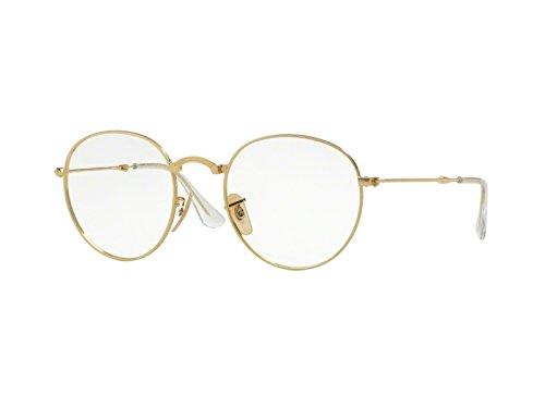 Ray Ban Optical Für Mann Rx3532v Gold Metallgestell Brillen, 47mm