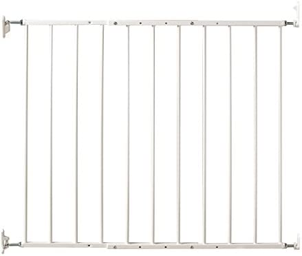 Command Pet Wall Mounted Gate, 31 H 24.75 -42.5 , White