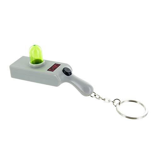 Rick and Morty Portal Gun Key Ring Light - Key Chain -