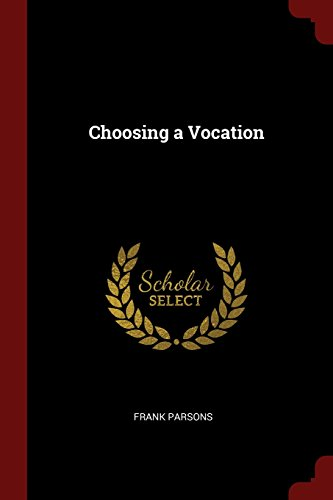 Choosing a Vocation
