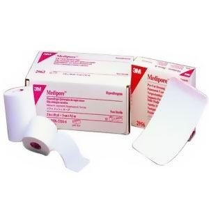 """Alimed Hypoallergenic Soft Cloth Surgical Tape, White, Self Adhesion 2"""" x 2 yds"""