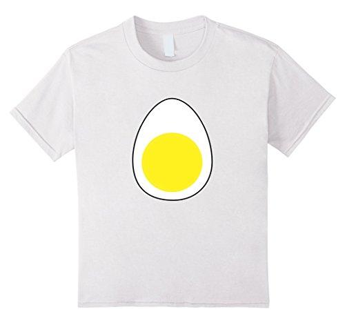 White Lady Halloween Costumes For Kids (Kids Deviled Egg Funny Halloween Costume T-shirt Women Men Kids 12 White)