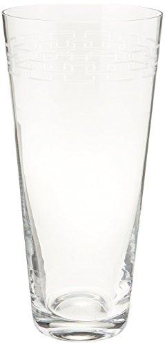 Mikasa Calista Crystal Vase, 11.5-Inch (Greek Key Vase)
