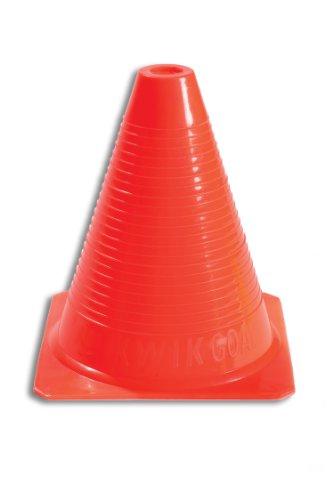 Kwik Goal Orange Practice Cone (6-Inch), 12 cones
