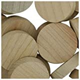 WIDGETCO 1'' Maple Wood Plugs, Face Grain