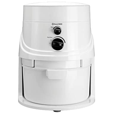 NutriMill Classic 760200 High Speed Grain Mill, 1200 Watt, 5 Cups Per Minute
