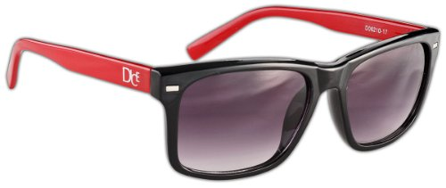 Black Shiny Red de Dice Lunettes 0Stxqgw