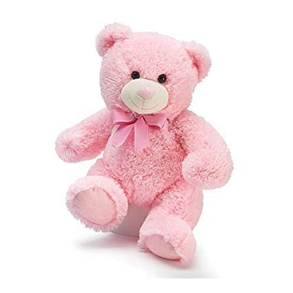 Burton & Burton Plush Pink Bear, 16 inches