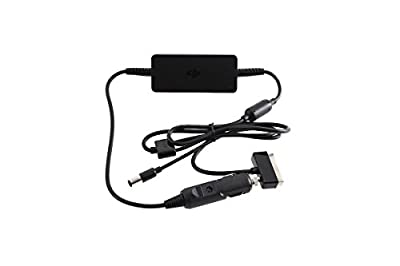 DJI Phantom 4 Portable Car Charger Kit, Black (CP.PT.000377)