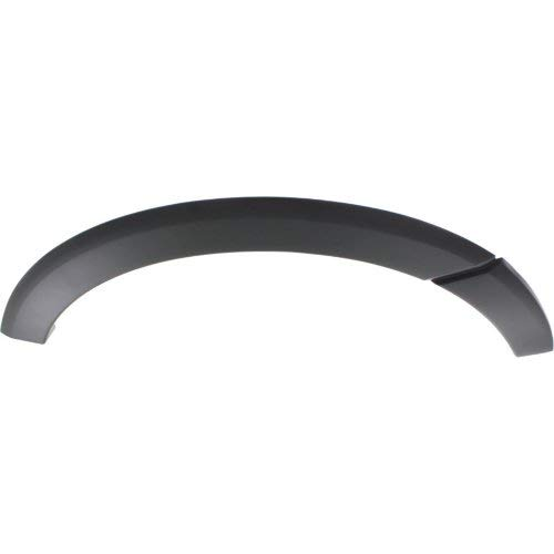 (Rear Fender Flares Compatible with FORD EXPEDITION 2007-2017 RH Primed Plastic)