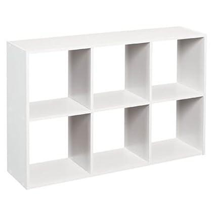 ClosetMaid 1578 Cubeicals Mini 6 Cube Organizer, White