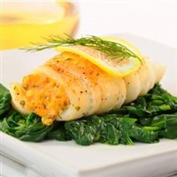 Today Gourmet - Sole Stuffed with Shrimp and Garlic (16 - 5oz Sole) by Today Gourmet