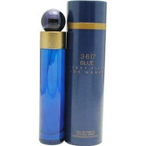 Women s Perry Ellis 360 Blue by Perry Ellis Eau de Parfum Spray – 3.4 oz.