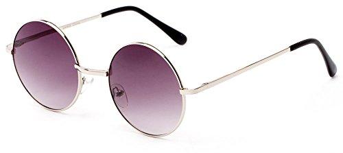 Sunglass Warehouse | The Lagoon Sunglasses - Round - Metal Frame - Men & - Sunglasses Warehouse