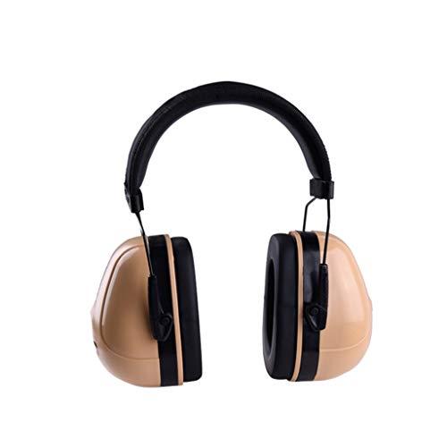 Noise Cancelling Headphones, Head-Mounted Adult Soundproof Earmuffs Sleep Learning Noise Reduction Earphones by Noise canceling headphones (Image #1)