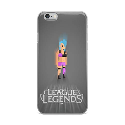 iPhone 6 Plus/6s Plus Case Anti-Scratch Gamer Video Game Transparent Cases Cover Pixels League of Legends Gaming Computer Crystal Clear