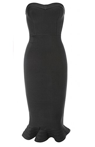 Buy below the knee length bandage dress - 7