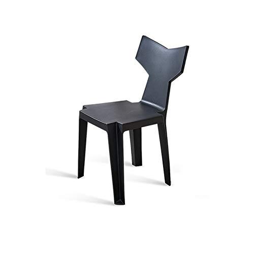 Black L43CMXW43CMXH82CM WXL Modern Minimalist Home Back Stool Creative Fishtail Chair W (color   Green, Size   L43CMXW43CMXH82CM)