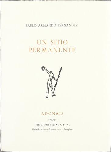 Un sitio permanente: Amazon.es: Fernandez, Pablo Armando: Libros