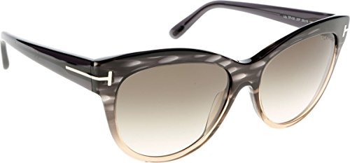 Tom Ford Sonnenbrille Lily (FT0430) grau