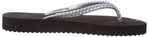 mehrfarbig Silver Multicolore Donna Slim Layer flop Flip 907 q5XSwTpWn