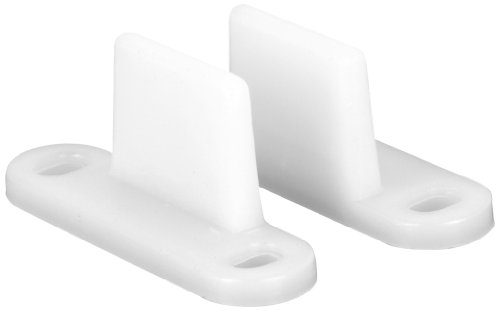 Slide-Co 161092 Bypass Door Floor Guide, Nylon,(Pack of 2)