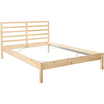 Amazon Com Ikea Tarva Full Size Bed Frame Solid Pine Wood