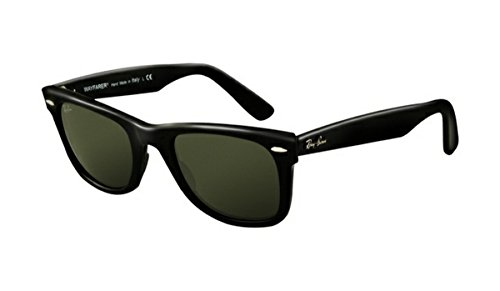 Stylish New Outdoor RB2140 Wayfarer Sunglasses Black Frame Crystal Green - Rb2140 Wayfarer New