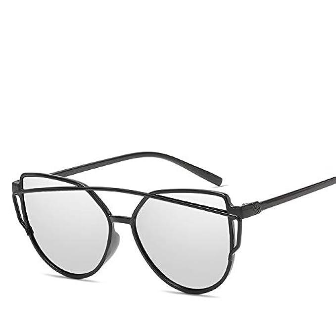 Xmdnye Da Twin-beams Eye Occhiali Sole Per Vetri Donna Specchio Cat