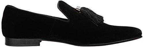 Steve Madden Mens Liberty Loafer Zwart Velours