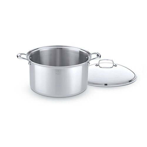 Hammer Stahl Stainless Steel 16 Quart Stock Pot with Cover