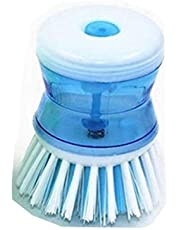 Wash Tool Pot Dish Bowl Palm Brush Scrubber Cleaning Cleaner Gadget Good Grips Soap Dispensing Palm Brush