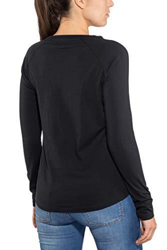 Maloja Nero moonless Donna 817 T Vidalm shirt Zwrq08PZ