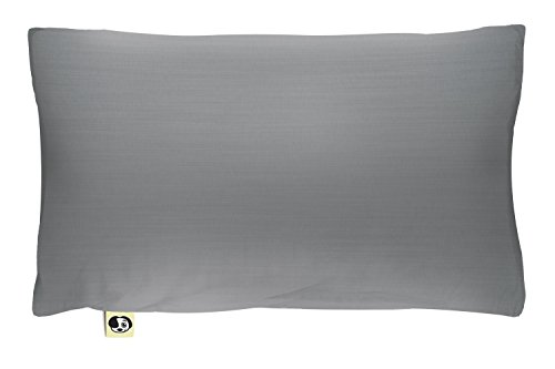 The Shrunks Natural Fibre - Water-proof Toddler Pillow and Cover, Grey