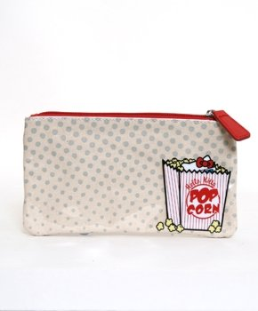 Hello Kitty 3D Movie Theater Zip Pencil Cosmetic Pouch