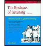 The Business of Listening, Diana Bonet, 1560520507