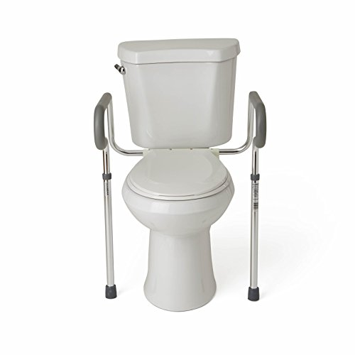 Medlines-Guardian-Toilet-Safety-Rail-with-adjustable-height-for-bathroom-safety-toilet-assist-and-grab-bar