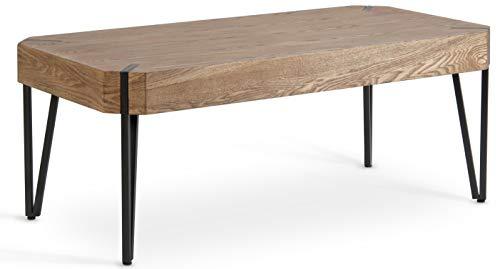 Amazon Com Hillenbrand Amp Co Rustic Coffee Table Oak Wood