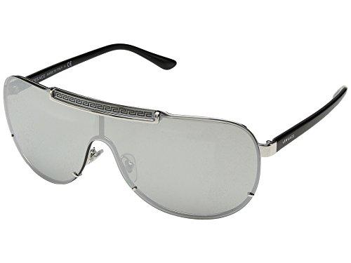 b3b6ecdf0b54cb Versace Mens Sunglasses Silver Silver Metal - Non-Polarized - 42mm by  Versace