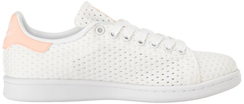 Adidas Smith haze Basses Femme Stan White white Baskets Coral B6RSwB