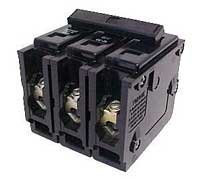 Eaton BR360 Br Series 3-Pole Breaker 60A, 3'' x 3'' x 3''