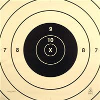 Official NRA Target Repair Centers, SR-C, For SR Target (200 yard rifle) (25)