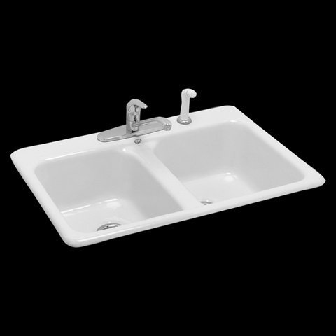 Americast Sink Review 7079 804 208 Cast Iron Double Bowl
