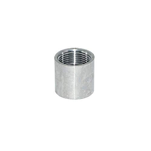 5 in a Pack 3//8 NPT Female Stainless Steel SS316 Material Full Coupling Class 150# Low Pressure Fitting